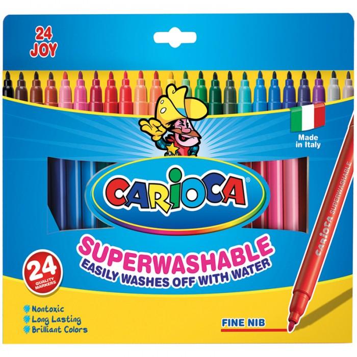Фломастеры Carioca Joy 24 цвета
