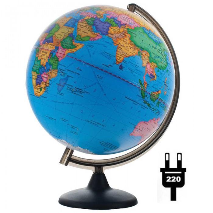 Глобусный мир Глобус политический 32 см с подсветкой от Акушерство
