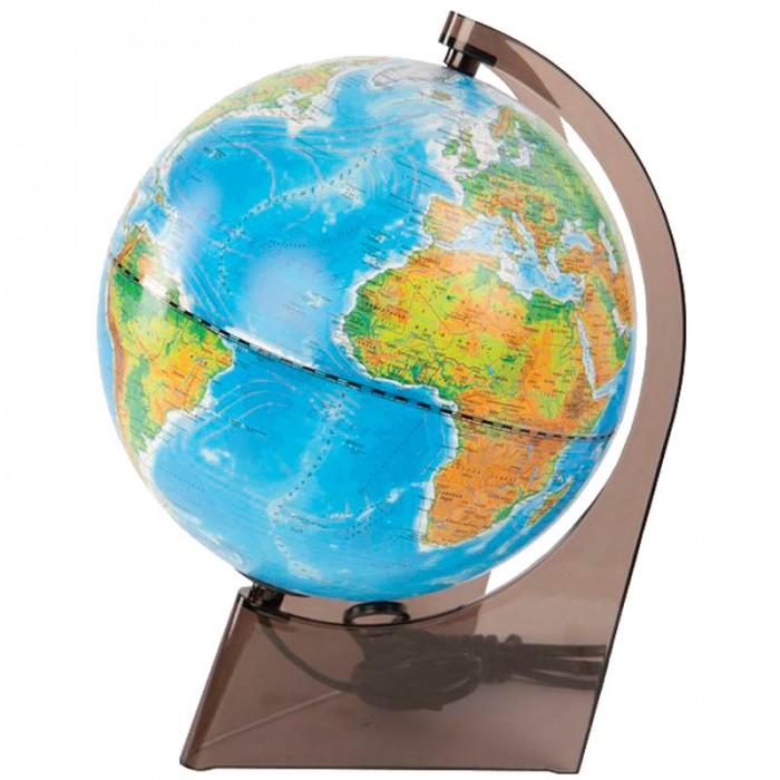 Глобусный мир Глобус физико-политический 21 см с подсветкой от Акушерство