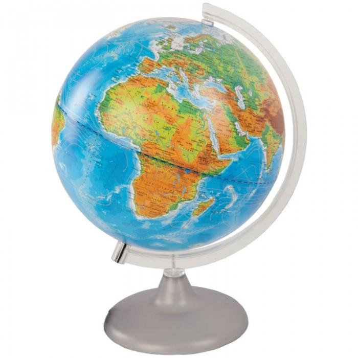Глобусный мир Глобус физико-политический 25 см с подсветкой от Акушерство