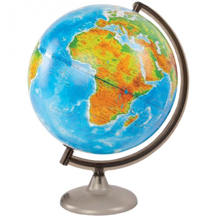 Глобусный мир Глобус физико-политический 32 см с подсветкой от Акушерство