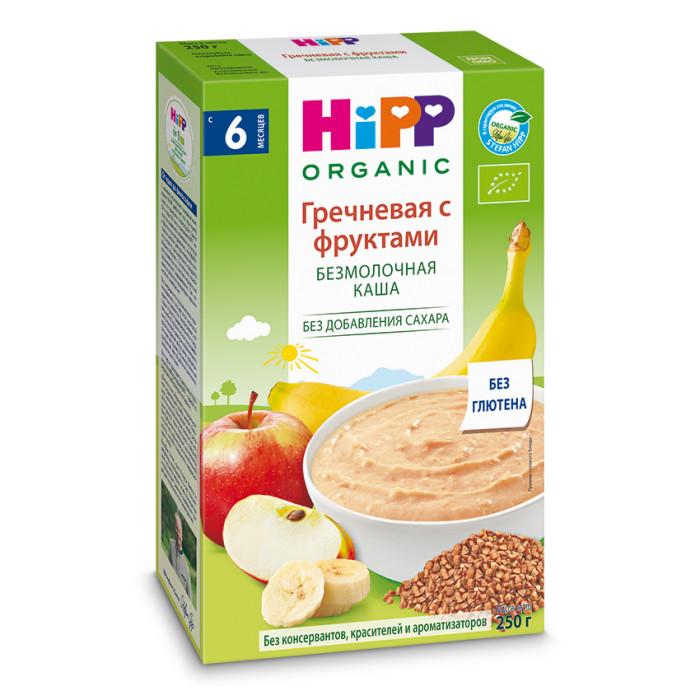 Hipp Безмолочная гречневая каша с фруктами с 4 мес. 250 г