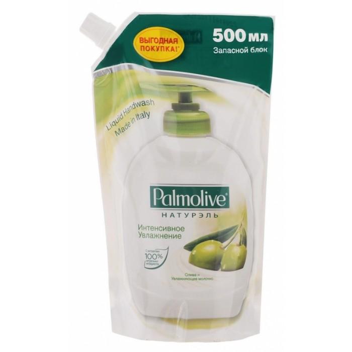 Palmolive Жидкое мыло Интенсивное увлажнение (Олива и Увлажняющее молочко) 500 млЖидкое мыло Интенсивное увлажнение (Олива и Увлажняющее молочко) 500 млЖидкое мыло Интенсивное увлажнение (Олива и Увлажняющее молочко) 500 мл.  Жидкое мыло Натурэль Интенсивное увлажнение.   Насыщенная бархатистая формула способствует увлажнению Вашей кожи, оставляя ее нежной и мягкой как шелк.   Формула содержит масло оливы и увлажняющее молочко. Нейтральный pH.<br>