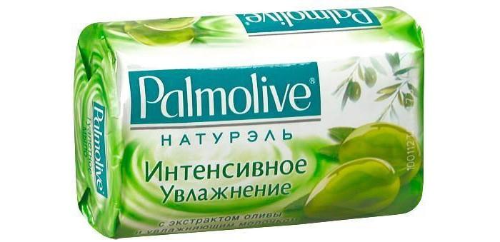 Palmolive Кусковое мыло Интенсивное увлажнение (с экстрактом оливы и увлажняющим молочком) 90 г