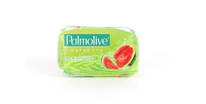 Palmolive Кусковое мыло Освежающее (Летний Арбуз) 90 гКусковое мыло Освежающее (Летний Арбуз) 90 гКусковое мыло Освежающее (Летний Арбуз) 90 г.  Туалетное мыло Palmolive Натурэль Освежающее содержит увлажняющие компоненты и придает мягкость Вашей коже.<br>