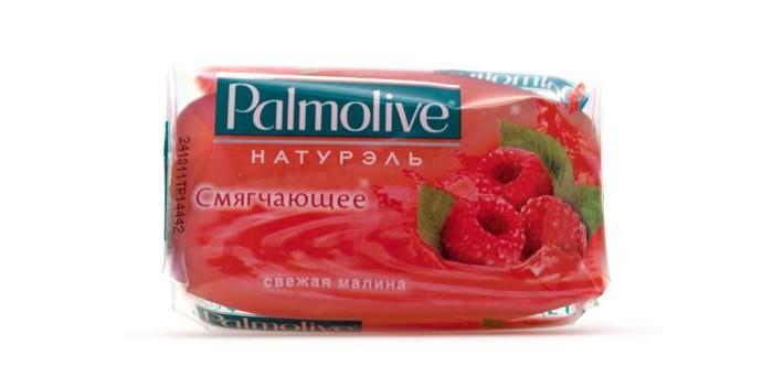 Palmolive Кусковое мыло Смягчающее (Свежая Малина) 90 г