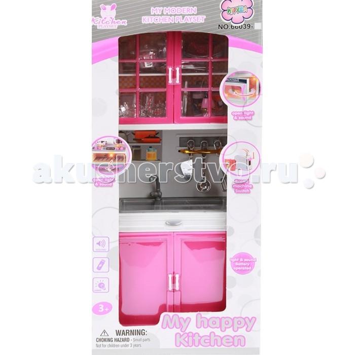 Игруша Набор мебели для куклы Кухня i-66039-2Набор мебели для куклы Кухня i-66039-2Игруша Набор мебели для куклы Кухня обязательно понравится вашей малышке и займет ее внимание надолго, развивает воображение и фантазию.  Особенности: В наборе, игрушки, имитирующие мебель и предметы быта.  Без механизмов.  Со световыми/звуковыми эффектами С питанием от батареек тип 2х AАA.<br>