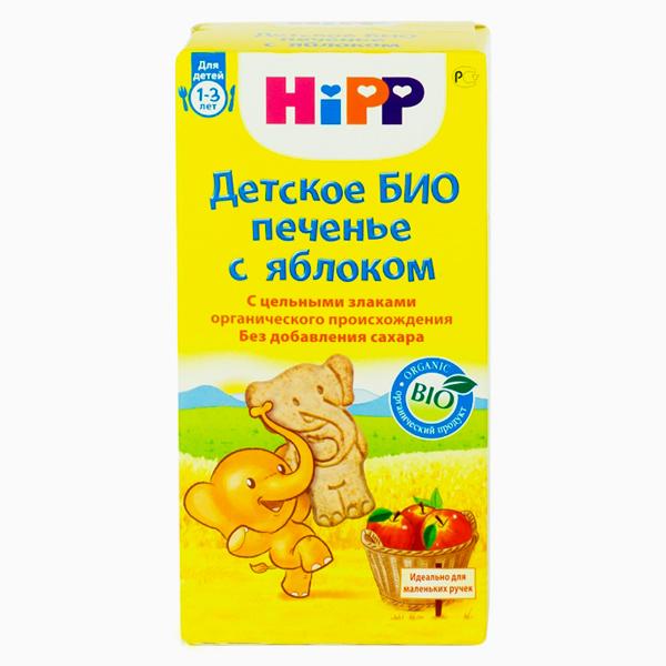 Печенье Hipp Детское БИО печенье с яблоком с 12 мес. 150 г