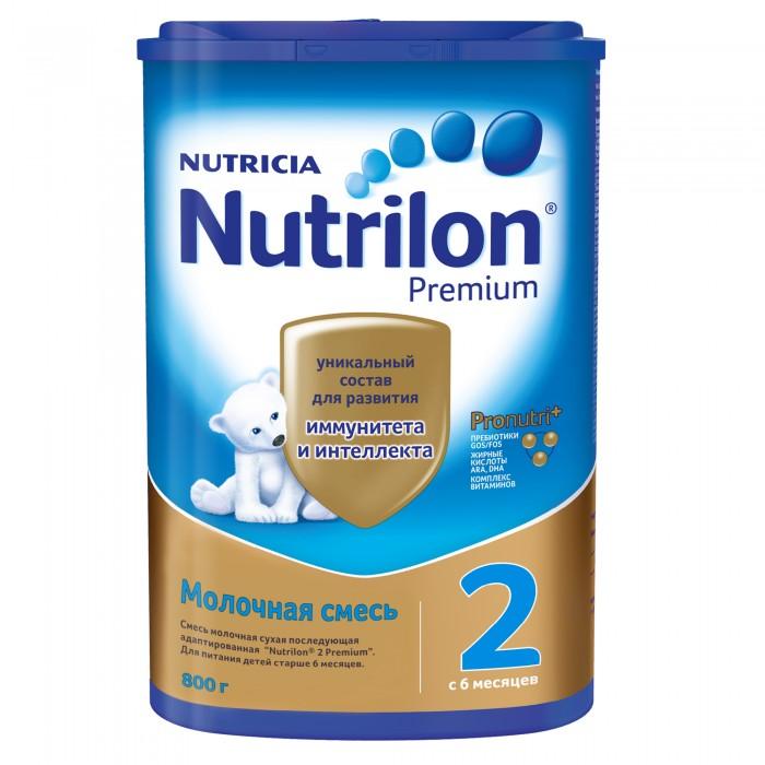 Nutrilon Заменитель 2 пребиотики с 6 мес. 800 г картон