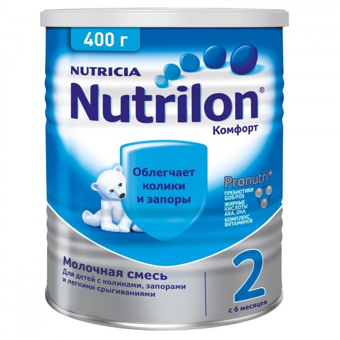 Nutrilon Заменитель Комфорт 2 с 6 месяцев 400 г