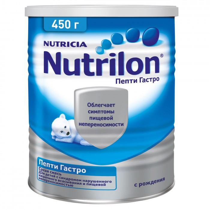 Молочные смеси Nutrilon Заменитель Пепти Гастро с рождения 450 г