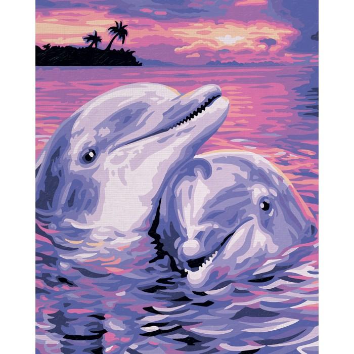 Schipper Картина по номерам Дельфины 24х30 см от Акушерство