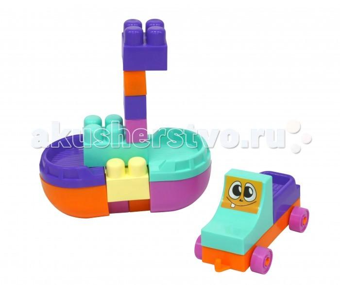Конструктор Tigres Чудо (20 элементов)Чудо (20 элементов)Конструктор Tigres Чудо (20 элементов). Конструктор развивает моторику рук, творческий потенциал, интеллект и внимание ребенка. Он научит различать размеры и формы предметов, а также поможет легко выучить основные цвета. Научит логически мыслить, создавая разнообразные архитектурные шедевры.  Этот детский конструктор, как и все пластмассовые игрушки Тигрес, не имеет острых выступов, что обеспечивает максимальную безопасность вашего ребенка.   Состоит из 20 элементов.  Цвета в ассортименте<br>