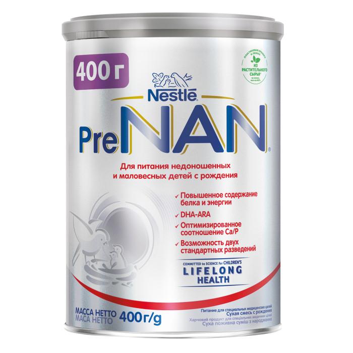 NAN Заменитель Pre для маловесных детей с рождения 400 г