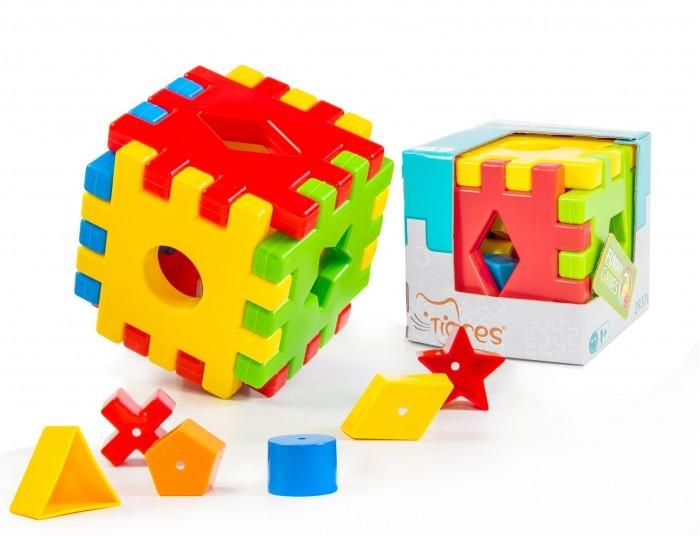 Сортер Tigres Волшебный куб (12 элементов) от Акушерство