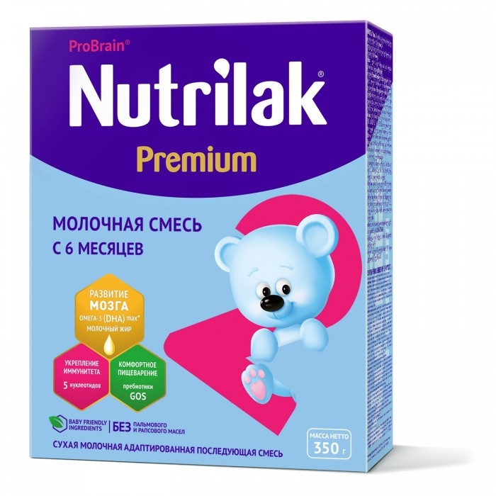 Nutrilak ���������� Premium 2 �� 6 ���. 350 �