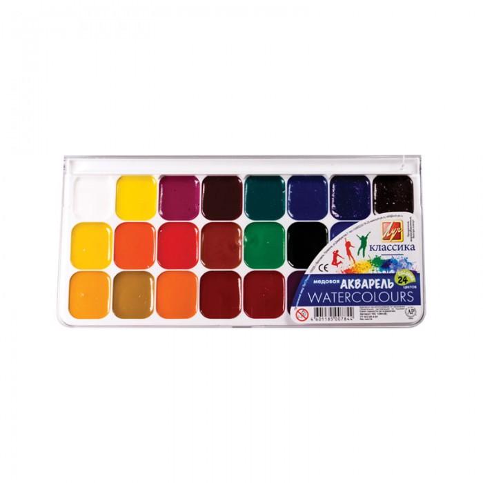 Луч Акварель Классика 24 цвета без кисти