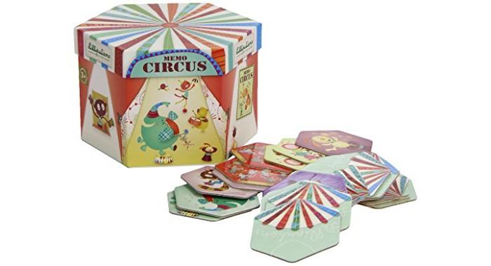 Lilliputiens Домино круглое ЦиркДомино круглое ЦиркLilliputiens Домино круглое Цирк.  Выложи перед собой все части в хаотичном порядке, и запомни, где каждая, чтобы найти пару. Каждый друг Lilliputiens надел свой цирковой костюм и надеется, что ты поможешь ему найти товарища!<br>