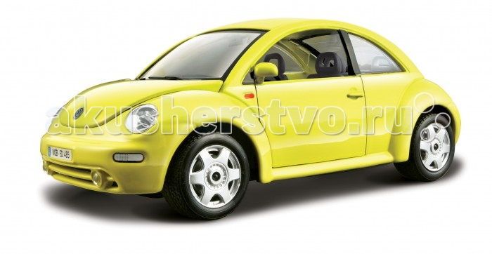 Bburago 1:24 BB Машина VW New Beetle1:24 BB Машина VW New BeetleBburago 1:24 BB Машина VW New Beetle.  Игрушка выполнена из высококачественного металла и пластика. Детали и края аккуратно обработаны.   Коллекционные машинки Бураго развивают у ребенка развивают координацию движений и меткость, пространственное и образное мышление, воображение, мелкую моторику. С мини-модельками автомобилей Bburago игра станет настолько увлекательной, что оторваться будет невозможно!   Компания Bburago – мировой лидер в производстве коллекционных моделей автомобилей. Более 30 лет профессиональные дизайнеры Bburago разрабатывают точные копии современных машин и ретро машин известных марок. С автомобилями Bburago можно не только играть, но и сделать их частью своей коллекции!<br>