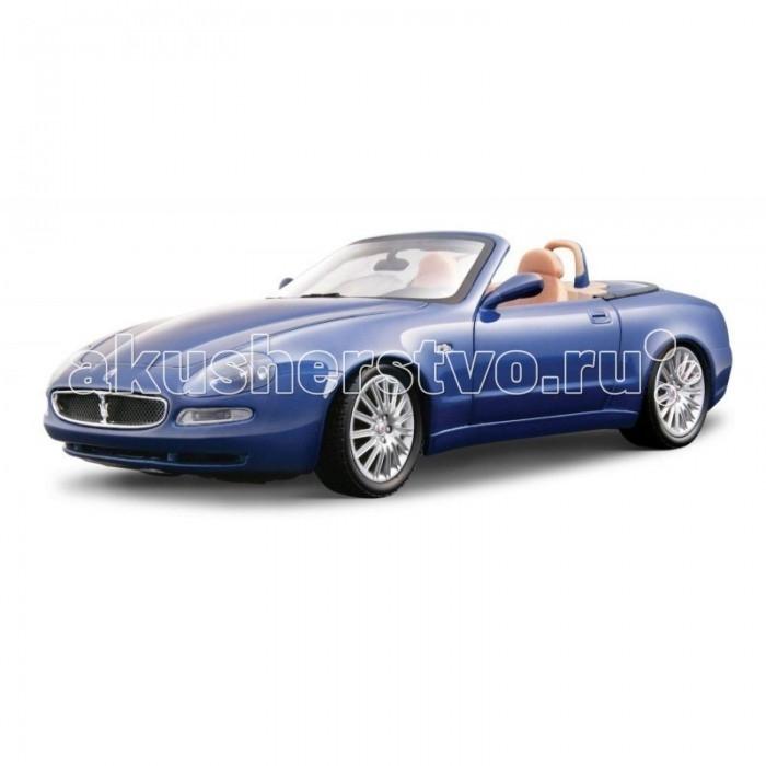 Bburago 1:18 BB Машина Maserati GT Spyder1:18 BB Машина Maserati GT SpyderBburago 1:18 BB Машина Maserati GT Spyder.  Гоночный автомобиль в точности повторяет реальный Машина Maserati GT Spyder в масштабе 1:18. Игрушка выполнена из высококачественного металла и пластика. Детали и края аккуратно обработаны.   Коллекционные машинки Бураго развивают у ребенка развивают координацию движений и меткость, пространственное и образное мышление, воображение, мелкую моторику. С мини-модельками автомобилей Bburago игра станет настолько увлекательной, что оторваться будет невозможно!   Компания Bburago – мировой лидер в производстве коллекционных моделей автомобилей. Более 30 лет профессиональные дизайнеры Bburago разрабатывают точные копии современных машин и ретро машин известных марок. С автомобилями Bburago можно не только играть, но и сделать их частью своей коллекции!<br>