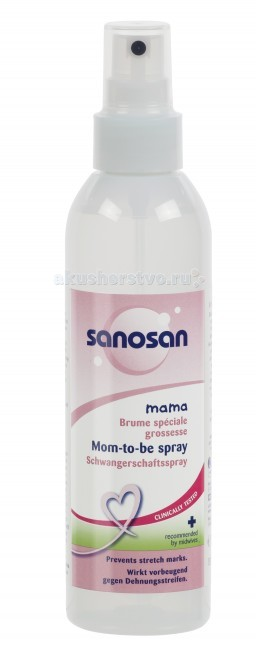 Sanosan Лосьон-спрей от растяжек для беременных 200 мл