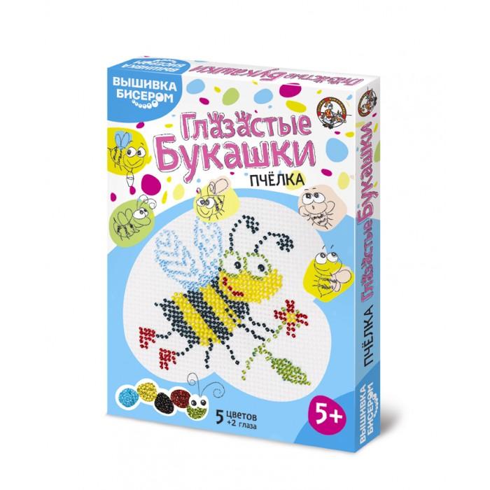 Десятое королевство Набор Глазастые букашки для вышивания бисером Пчелка