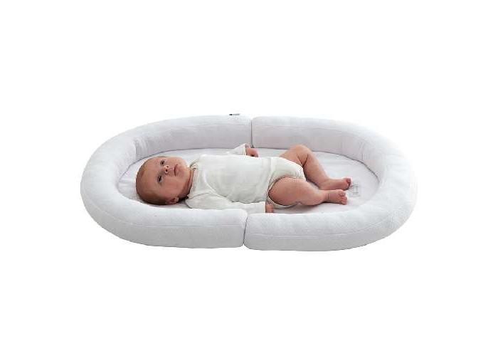 Пеленальный столик Candide Коврик с валиками овальный Baby Nest 82x52 см