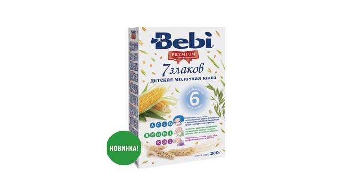 Bebi Молочная каша Premium 7 злаков с 6 мес. 200 г