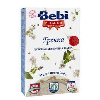 Bebi Молочная Гречневая каша Premium с 4 мес. 200 г