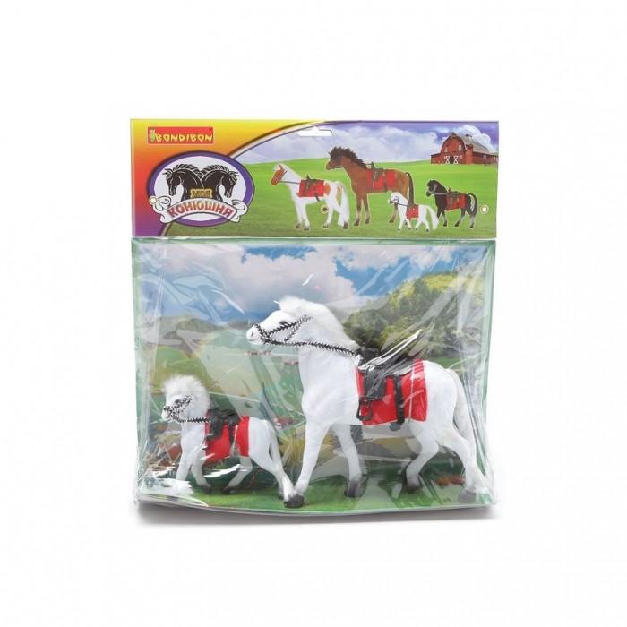 Bondibon Игровой набор Лошадь с жеребенком