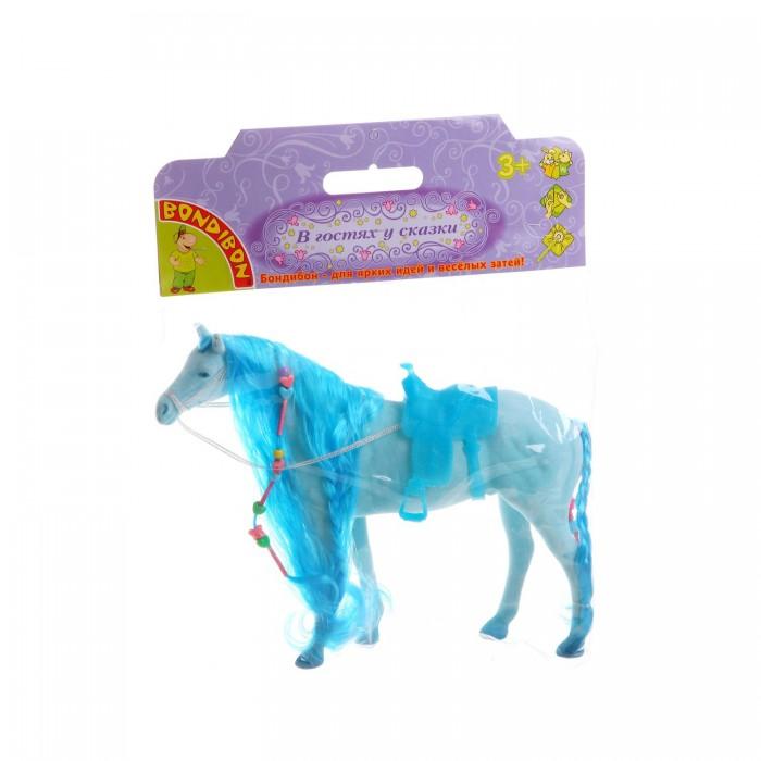 Bondibon Игровая Лошадь с косой 12.5 дюймовИгровая Лошадь с косой 12.5 дюймовИгровая Лошадь с косой 12.5 дюймов.  Веселая лошадка может стать верной подружкой для любой принцессы. Ведь не бывает принцесс и принцев без прекрасного верного коня.   А если у лошадки есть шелковая грива, то с ней играться еще интереснее ее можно причесать, заплести косички. У лошадки обязательно должен быть любимый самый заботливый хозяин на свете.   Такая игрушка прививает малышу любовь к природе и учит бережно относиться к животным.<br>