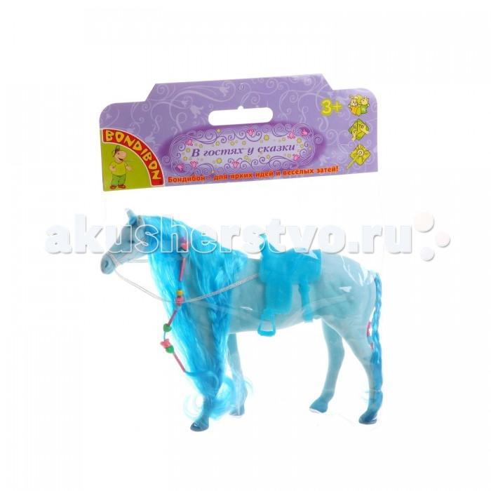 Bondibon Игровая Лошадь с косой 8 дюймов
