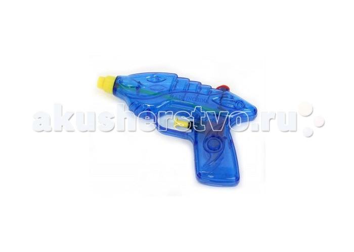 Bondibon Водный пистолет Водная Битва 16 смВодный пистолет Водная Битва 16 смВодный пистолет Водная Битва 16 см.  Водяной пистолет с помпой — отличное оружие для грандиозной битвы в жаркий денек! Он выполнен из прочного, долговечного и нетоксичного пластика и управляется курком-кнопочкой.   Пистолет приятен своей эргономичной формой и стильным дизайном.   Его корпус имеет рельефные элементы и вставки из разноцветного пластика.<br>