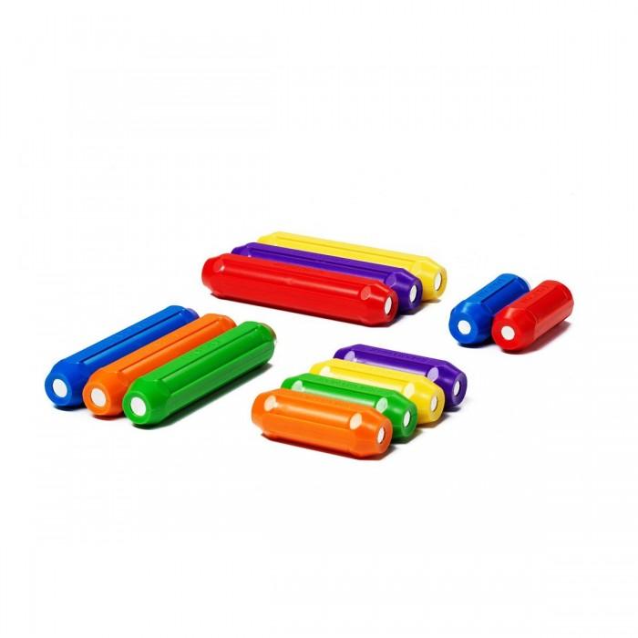 Конструктор Bondibon Дополнительный магнитный набор SmartMax:6 коротких и 6 длинных палочекДополнительный магнитный набор SmartMax:6 коротких и 6 длинных палочекМагнитный дополнительный набор SmartMax: 6 коротких и 6 длинных палочек.  Для тех, кто хочет расширить поле деятельности, играя с основным конструктором SmartMax, мы предлагаем интересное дополнение в виде набора из 6 коротких и 6 длинных палочек. Невероятное притяжение внимания и сосредоточенность в процессе изучения физических свойств магнитиков - настолько приятное зрелище для родителей, что отказаться от такой игры просто невозможно!   Малыши и дети постарше найдут применение всем деталям конструктора, каждый – свое, конечно, но обязательно это будет увлекательный и долгий процесс.   Магниты имеют свои южные и северные полюса:«Холодные» цвета: палочки зеленого, синего или фиолетового цвета имеют северные полюса.«Теплые» цвета: палочки красного, оранжевого или желтого цвета имеют южные полюса.   Подобные конструкторы прекрасно развивают не только логику и мелкую моторику рук, но и фантазию, воображение.За счет больших размеров магнитных палочек конструктор абсолютно безопасен для ребенка.<br>
