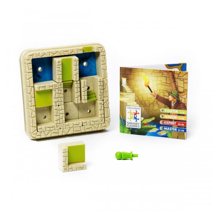 Bondibon Логическая игра ЛабиринтЛогическая игра ЛабиринтЛогическая игра Лабиринт.  «Лабиринт» - это увлекательная логическая игра. В этом таинственном египетском лабиринте стены двигаются сами. Куда приведут тебя запутанные пути: к спасительному выходу или в тупик? Один неправильный шаг – и ты можешь стать обедом для голодного крокодила.   Что поможет тебе выбраться - интуиция или логика? Эта игра для упорных и сообразительных. Пять уровней сложности, от новичка до мастера, рассчитаны на игроков от 6 лет, задания с ответами и правила включены в комплект игры.   Несмотря на то, что все логические задачи уже с ответами, не торопитесь узнавать решение, попробуйте найти его сами! Для детей от 6 лет.<br>