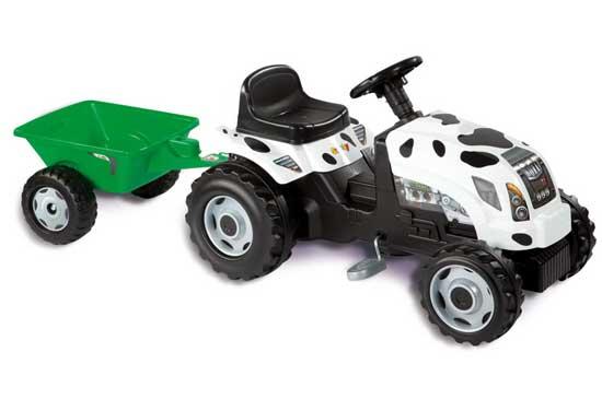 Педальные машины Smoby Трактор GM Thme Vache
