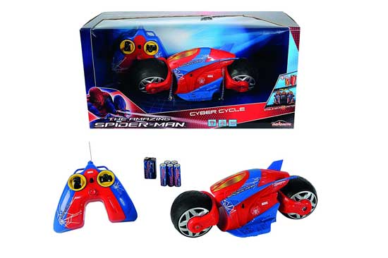 Машины Majorette Мотоцикл Человек Паук