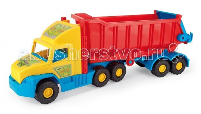 Wader Super Truck грузовикSuper Truck грузовикWader Super Truck грузовик. Игрушечный грузовик Super Truck- большая, прочная и прежде всего безопасная для детей игрушечная машинка, которая подарит ребенку огромное удовольствие и будет полезна для его развития.  Игрушечная машинка имеет много подвижных элементов. Например, в ней поворачивается кузов, открывается его задняя крышка и откидывается подножка. Игрушка отличается прочной конструкцией и большой грузоподъемностью.   Играть с машинкой можно как дома, так и на открытом воздухе.<br>