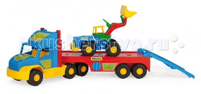 Wader Super Truck с трактором