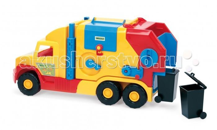 Wader Super Truck мусоровоз малый