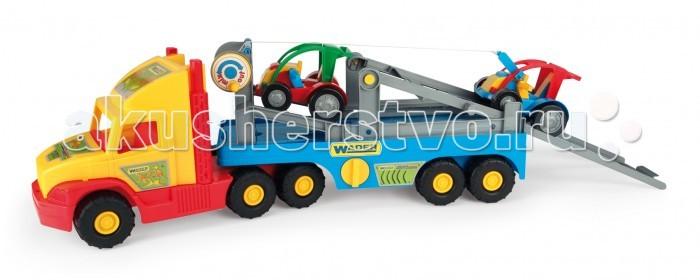 Wader Super Truck с легковой машинкой