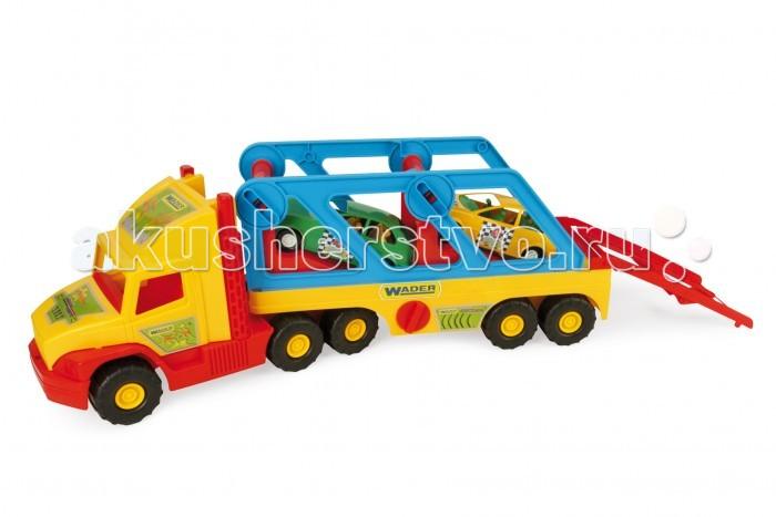 Wader Super Truck с авто-купе