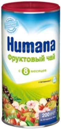 Чай Humana Детский фруктовый чай с 8 мес 200 г