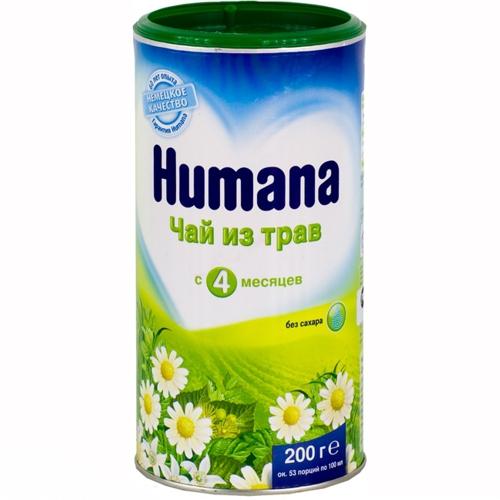 Чай Humana Детский чай с травами с 4 мес. 200 г