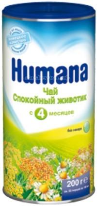 Чай Humana Детский чай Спокойный животик с 4 мес. 200 г