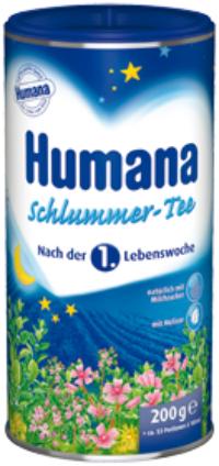 Чай Humana Детский чай Спокойной ночи с 4 мес. 200 г