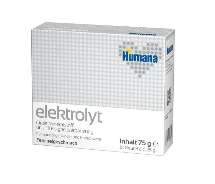 Чай Humana Электролит Фенхель с 3 лет 6,25 г х 12 пак.
