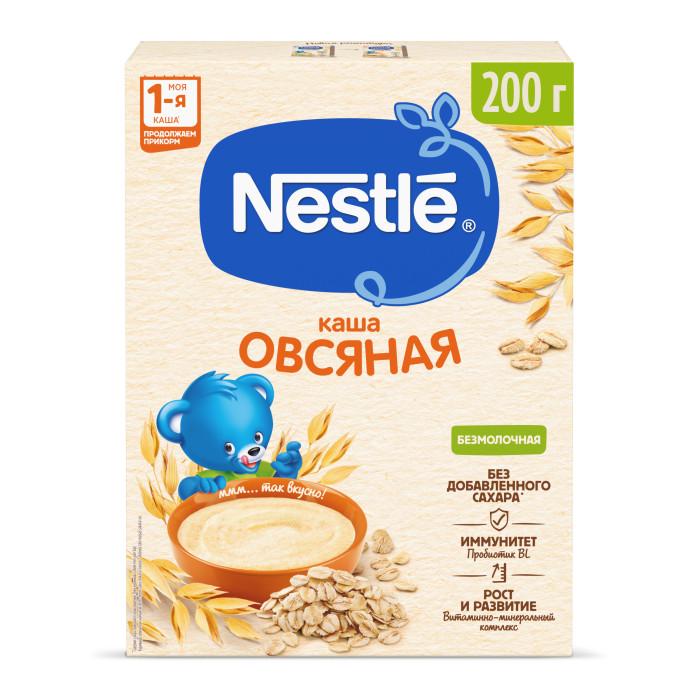 Nestle Безмолочная Овсяная каша с бифидобактериями витаминами и минералами с 5 мес. 200 г