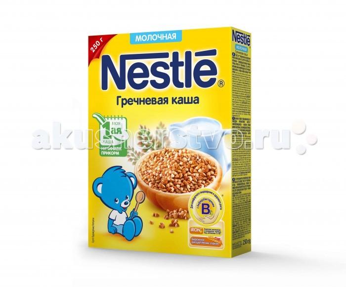 Nestle Молочная Гречневая каша с 4 мес. 250 г