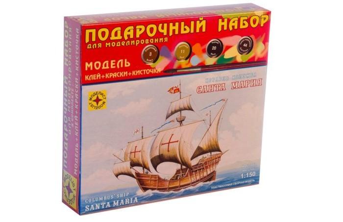 Конструктор Моделист Модель Подарочный набор Корабль Колумба Санта-Мария